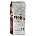 starbucks pike place decaf whole bean for offices 125