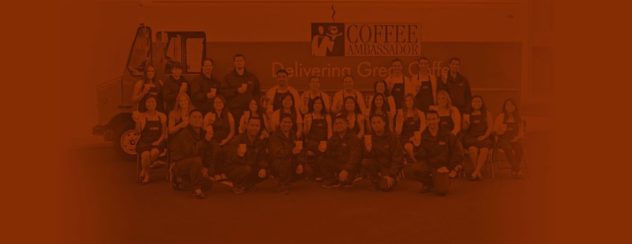 Coffee Ambassador Employees Company Photo