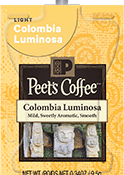 Peet's Coffee Colombia Luminosa Freshpack Image