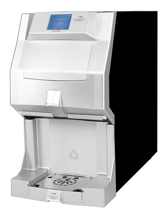 Newco Freshcup coffee machine, designed for pod-brewing in office environments