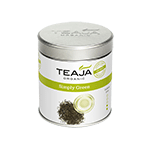 Teaja Office Loose Leaf Tea Simply Green